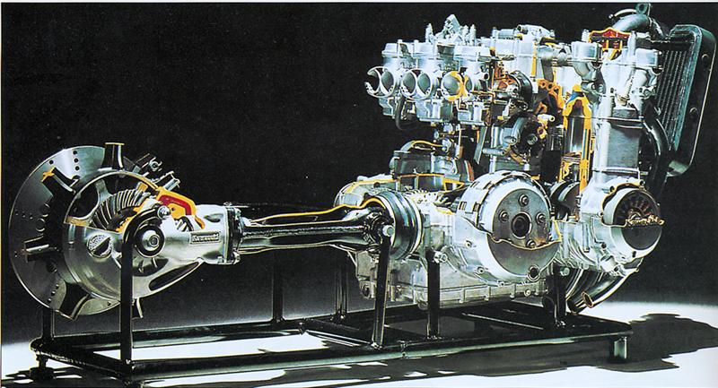 moteur coupe