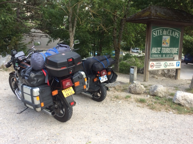 arrêt saut de la Drôme