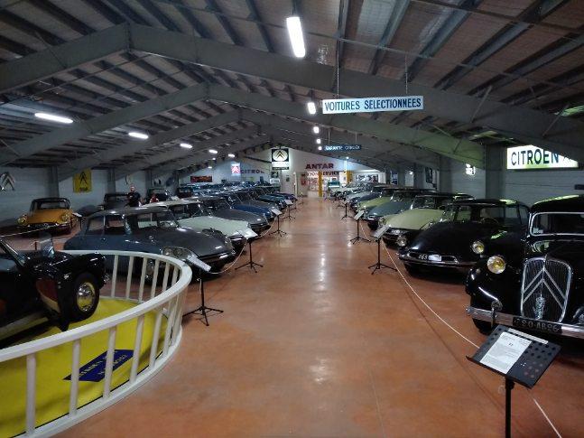 le musée Citroën Castellane